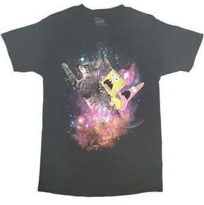 Spongebob Squarepants Kitty Cat in Space Men's M